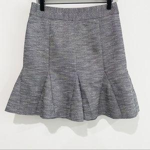 BANANA REPUBLIC Metallic Tulip Bell Mini Skirt